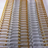 Boucle de fil de liaison a doublé en acier