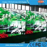 Étalage de mur visuel extérieur polychrome de la location P10 DEL de HD