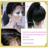 A melhor peruca cheia do laço do cabelo humano da qualidade para mulheres pretas