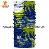 Commerce de gros bon marché Polyester microfibre Magic Bandana coiffure avec logo personnalisé