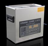 Nuevo desgasificar + acero inoxidable de la función de calefacción hecho producto de limpieza de discos ultrasónico del profesional 3L de la visualización de LED