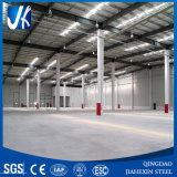 Casa ligera prefabricada de la estructura de acero del mercado de China con el panel de emparedado