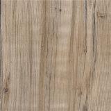 Planche de verrouillage imperméable à l'eau de plancher de vinyle de PVC estampée par Vierge 100%