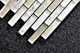 Mattonelle di mosaico Polished di cristallo di prezzi poco costosi