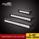 9 '' 60W campo a través del techo del camión Jeep LED Light Bar