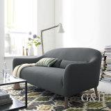 Свет - серый цвет обил стул ног живущий конструкции комнаты деревянный
