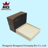 Boîte cadeau en papier brun classique pour bijoux