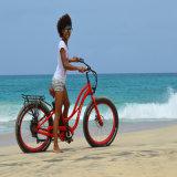 2017 حارّ عمليّة بيع [500و] سمين إطار العجلة شاطئ درّاجة كهربائيّة