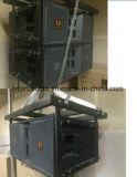Vt4888 la ligne à trois voies alignement conjuguent acoustique de haut-parleur de 15 pouces PRO