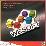 Distintivo su ordinazione di Pin del ricordo di immagine della bandierina per i regali promozionali