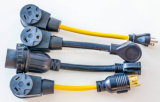 cabo da escala 4-Foot 40 ampères fio de um ampère 14-50p 3 Pólo 4 de 125/250 de volt Nem