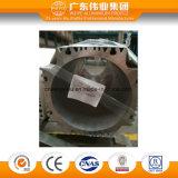 Perfil de alumínio industrial de extrusão de alumínio dissipador de calor
