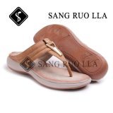 Dame-Sandelholz-Schuh-im Freienstrand-Schuhe