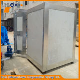 Piccolo forno elettrico in lotti del rivestimento della polvere di alta qualità