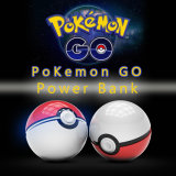 La Chine le fournisseur de gros ballon Pokeball12000mAh Poke Pokemon aller Banque d'alimentation chargeur USB portable avec LED