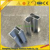 6063 6061 RAM Chenille en aluminium en aluminium à rideaux à extrusion pour Guid Rail