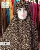 100см*110см большой 100% полиэстер моды мусульманских печати винты с головкой втулки