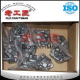 O carboneto cimentado do tungstênio de Yg6X morre para a fatura de grande resistência do molde