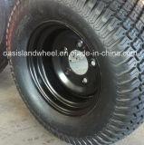 Rotella d'acciaio del carrello di golf (10X8) per la gomma del tappeto erboso