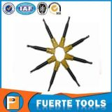 1 herramienta sólida de la carpintería del molino de extremo del carburo de la sola flauta