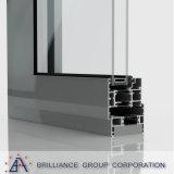 Het Aluminium die van de Dubbele Verglazing van de douane Deur vouwen