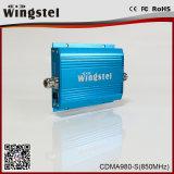 Aumentador de presión móvil ajustable de la señal del aumento de CDMA980 850MHz 2g para la oficina