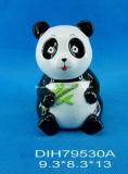 Coppie di ceramica dipinte a mano del panda per la decorazione domestica