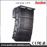 """Dual da """" linha audio altofalante do sistema do PA polegada 10 de Linearray da disposição"""
