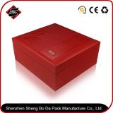 Het aangepaste Vakje van de Opslag van het Document van het Embleem Verpakkende voor Elektronische Producten