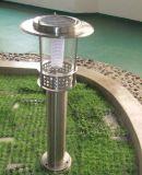 Nuovo risparmio solare aggiornato dell'indicatore luminoso del giardino di alta qualità a energia di combustione