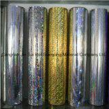 Lámina para gofrar caliente de los colores hermosos olográficos de la hoja para la impresión y empaquetar
