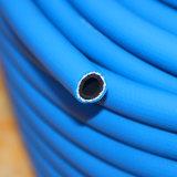 Tuyau d'air à haute pression résistant à la flamme industrielle en PVC (KS-814GYQG) Bleu