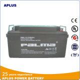 Baterias alternativas 12V 65ah da potência livre acidificada ao chumbo recarregável da manutenção