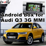 La interfaz de video multimedia con la navegación GPS para el Audi Q3 A1
