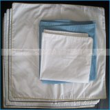 Il materiale 100% del cotone giù mette le piume al coperchio bianco del cuscino