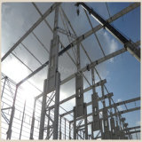 Edificios de acero prefabricados ligeros del taller de la potencia para la venta