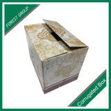 Empaquetado acanalado del rectángulo del vino de la tarjeta de papel