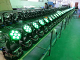 Luz de projetor de Natal 7PCS LED Moving Head Stage Light