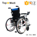 Grossisti della sedia a rotelle della Cina dell'ospedale di Topmedi che piegano sedia a rotelle elettrica