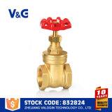 Brass Copper Válvula de compuerta (VG-B10402)