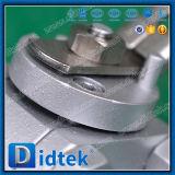 Didtek forjó la vávula de bola criogénica asentada suavidad de flotación del acero Lf2