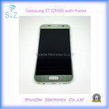 De slimme Telefoon LCD van de Cel voor de Vertoning van het Scherm van de Aanraking G930f van de Melkweg S7 G9300 van Samsung met Frame