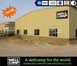 Wellcamp personalizou a oficina modular de aço padrão