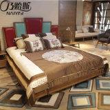 Современный новый дизайн деревянные кровати для использования с одной спальней (CH-623)