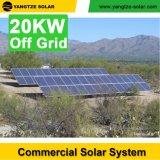 Fuori la casa del sistema solare di griglia 20kw