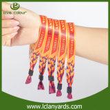 Wristbands baratos por atacado da tela para a amostra livre