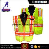 Veste impermeável En20471 da segurança reflexiva elevada da visibilidade