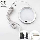 Weißes LED-Küche-Licht mit eingebautem Handschwingen-Fühler-Schalter