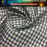 ポリエステルヤーンは染めた衣服またはジャケット(YD1173)のためのギンガムの小切手ファブリックを