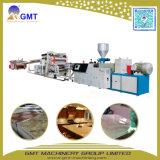 Machine van de Uitdrijving van het Comité van de Muur van het Blad Faux van pvc de Kunstmatige Marmeren Plastic